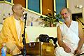 Radhanath Swami with Saintly People